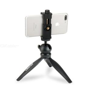Ulanzi Mini Phone Tripod Tabletop Smartphone Mount Clip Holder Stand w Detachable Ballhead for iPhone X/8/7 Plus Huawei Xiaomi