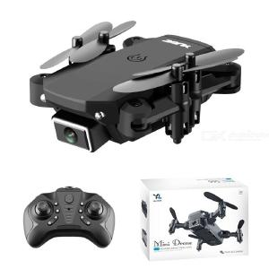 S66 Pro Mini Foldable Drone 4K HD Aerial Photography 4-axis Aircraft Remote Control Aircraft With Dual Camera Color Box Package