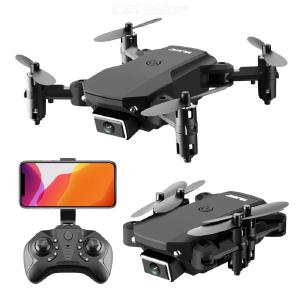 S66 Pro Mini Foldable Drone 4K HD Aerial Photography 4-axis Aircraft Remote Control Aircraft With Dual Camera Handbag Package