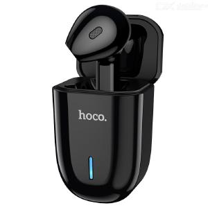 HOCO E55 Flicker Unilateral Wireless Bluetooth Headphone With Charging Box In-ear Headset Portable Sport Earphone