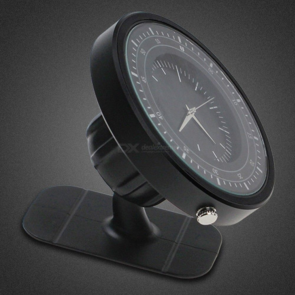 Creative strong magnetic clock mobile phone stand