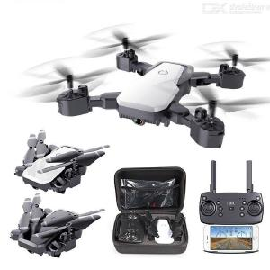 HDRC D8 Foldable Drone 4K HD Camera WIFI 4-axis 2.4G Remote Control Wear Resistance Scratch Resistance Single Electric Version