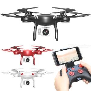HDRC H15 WIFI Drone Foldable Portable 4-axis Wear Resistance Scratch Resistance Collision Resistance Multi-electric Version