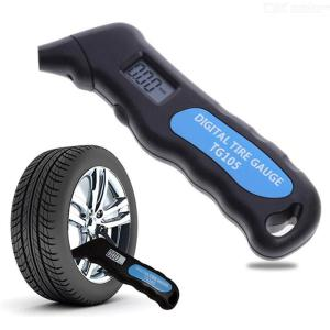 TG105 Digital Tire Pressure Gauge LCD Display 0.5PSI Portable For Car Truck Bicycle
