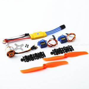 A2212 2200KV Brushless Motor 30A  ESC SG90 9G Micro Servo 6035 propeller for RC Fixed Wing Plane Helicopter