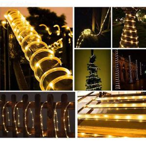 Outdoor Waterproof Solar Copper Wire Tube Light LED Lantern Christmas Garden Garden Decoration Light