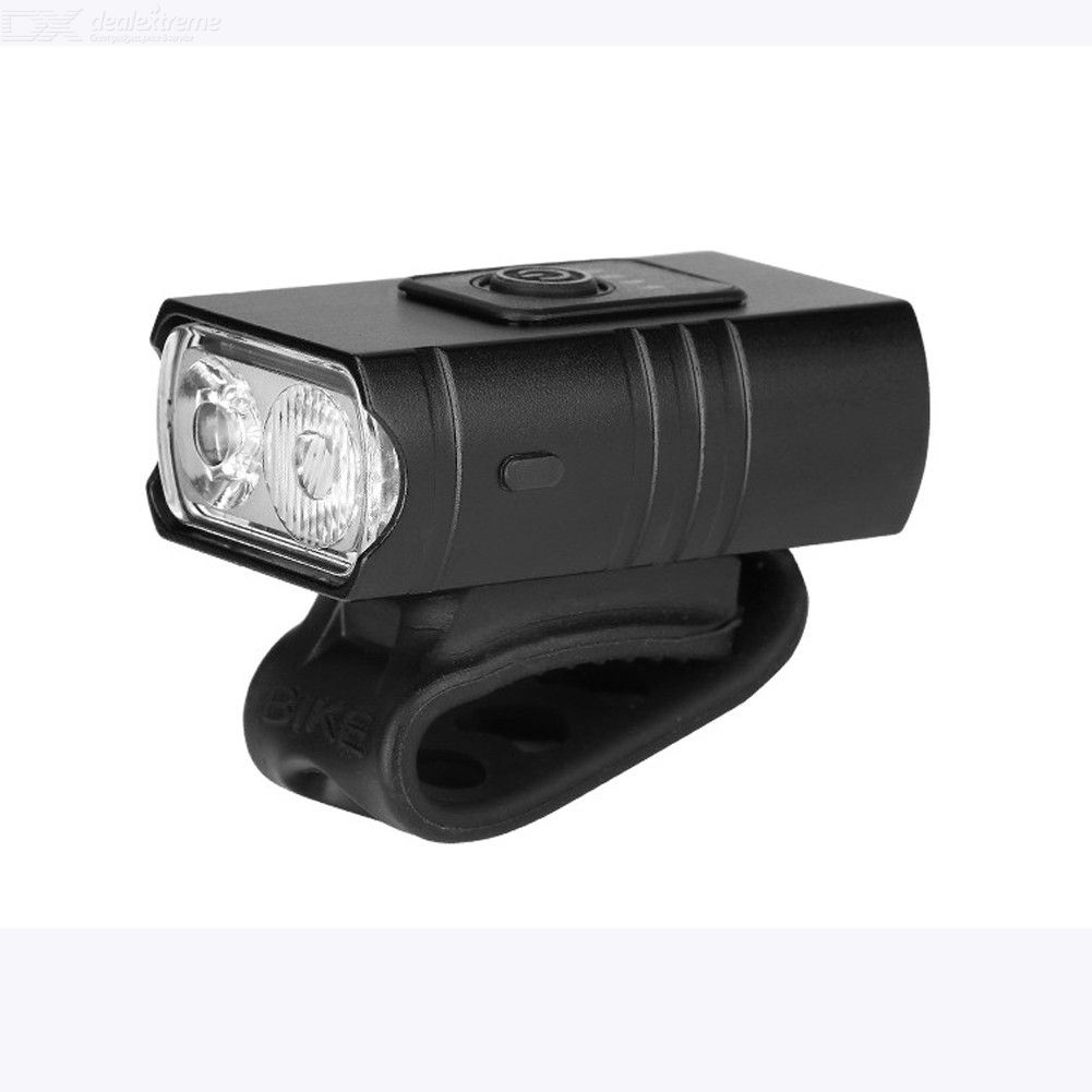 2000 LM Mini dual T6 bicycle lights USB charging outdoor night riding LED lighting waterproof flashlight