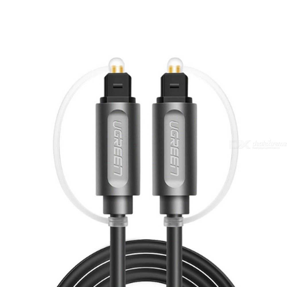 UGREEN Digital Optical Audio Cable Toslink Cable Fiber Optic Male to Male Cord for Home Theater Sound Bar TV PS4 Xbox TV Cable