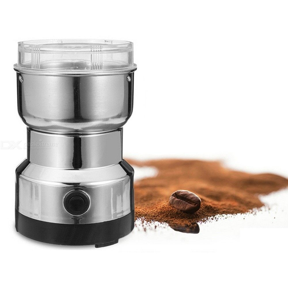 Electric Coffee Beans Grinder Kitchen Cereals Nuts Beans Spices Milling Grinding Household Coffeeware Machine