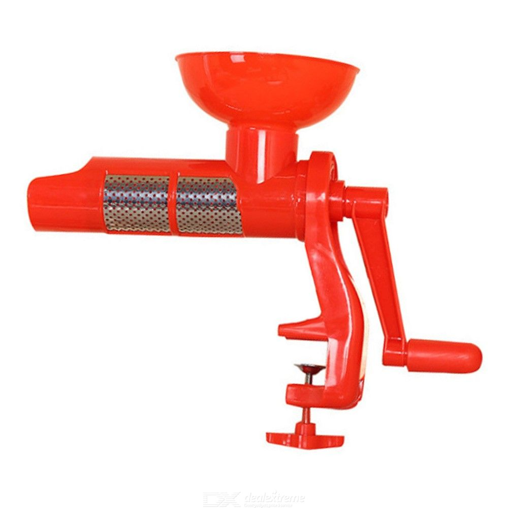 Tomato Sauce Juicer Plastic Hand Manual for Tomatos Juice Multifunctional Kitchen Accessories Gadgets Fruits Tools