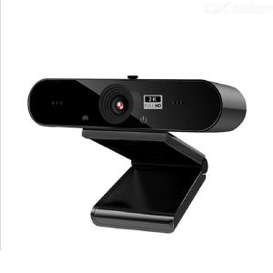 HD 2K computer webcam USB driver free video conference live camera