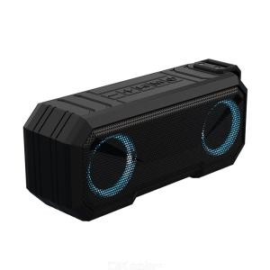 X8 Bluetooth Speaker Wireless Waterproof Portable Colorful Glow Bluetooth 5.0 Power Bank Function Support TF Card AUX FM