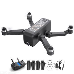 HR ICAMERA 2 Foldable Drone Portable 4k HD Aerial 5G Image Transmission GPS Positioning Anti-fall Multi-Electric Version