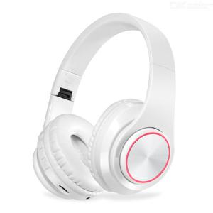 Tourya BH3 Wireless Bluetooth Headphone Foldable Headset Stereo Sport Headphone With Luminous Lights Support TF Card