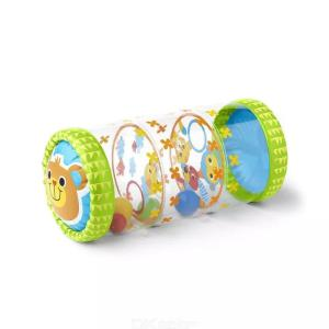Inflatable Infants Roller PVC Baby Walking Crawling Learning Roller With Bells Early Education Toys Toddler Standing Exercise