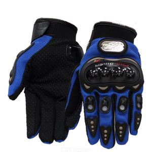 Cycling Protective Gears Outdoor Full Finger Touch Screen Gloves Sun-proof Windproof Gloves Anti-slip Motorbike Racing Gloves