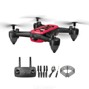 HR H7 Foldable Drone 4K HD Camera Real-time Image Transmission GPS Dual Intelligent Precise Positioning Multi-electric Version
