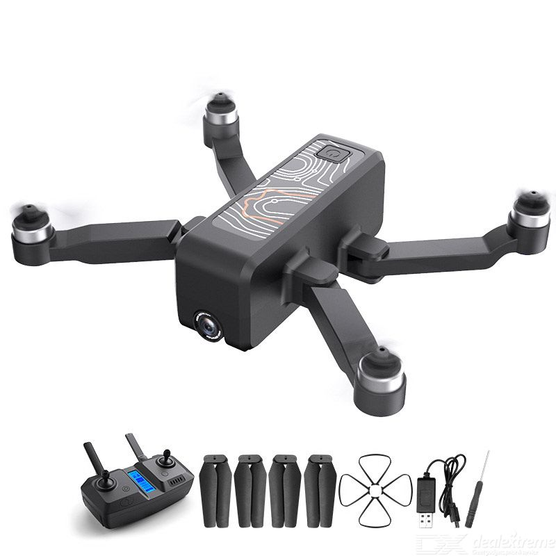 HR ICAMERA 2 Foldable Drone Portable 4k HD Aerial 5G Image Transmission GPS Positioning Single Electric Version
