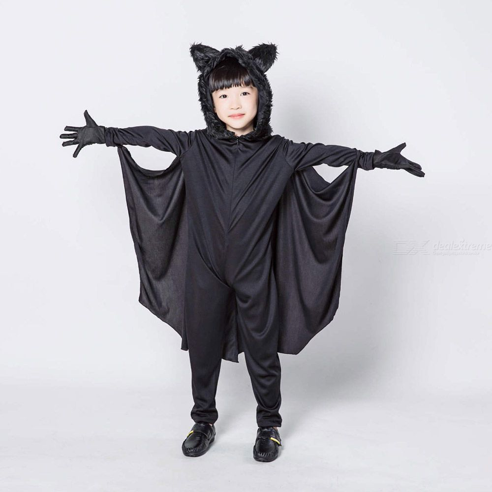 Bat Cosplay Costumes For Children Halloween Bat Romper Kids Halloween Costume Kids Role Play Game Party Performance Clothing