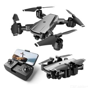 HR H3 Foldable Drone Portable 1080P HD Aerial Photography 5G Image Transmission Optical Flow Positioning Multi-Electric Version