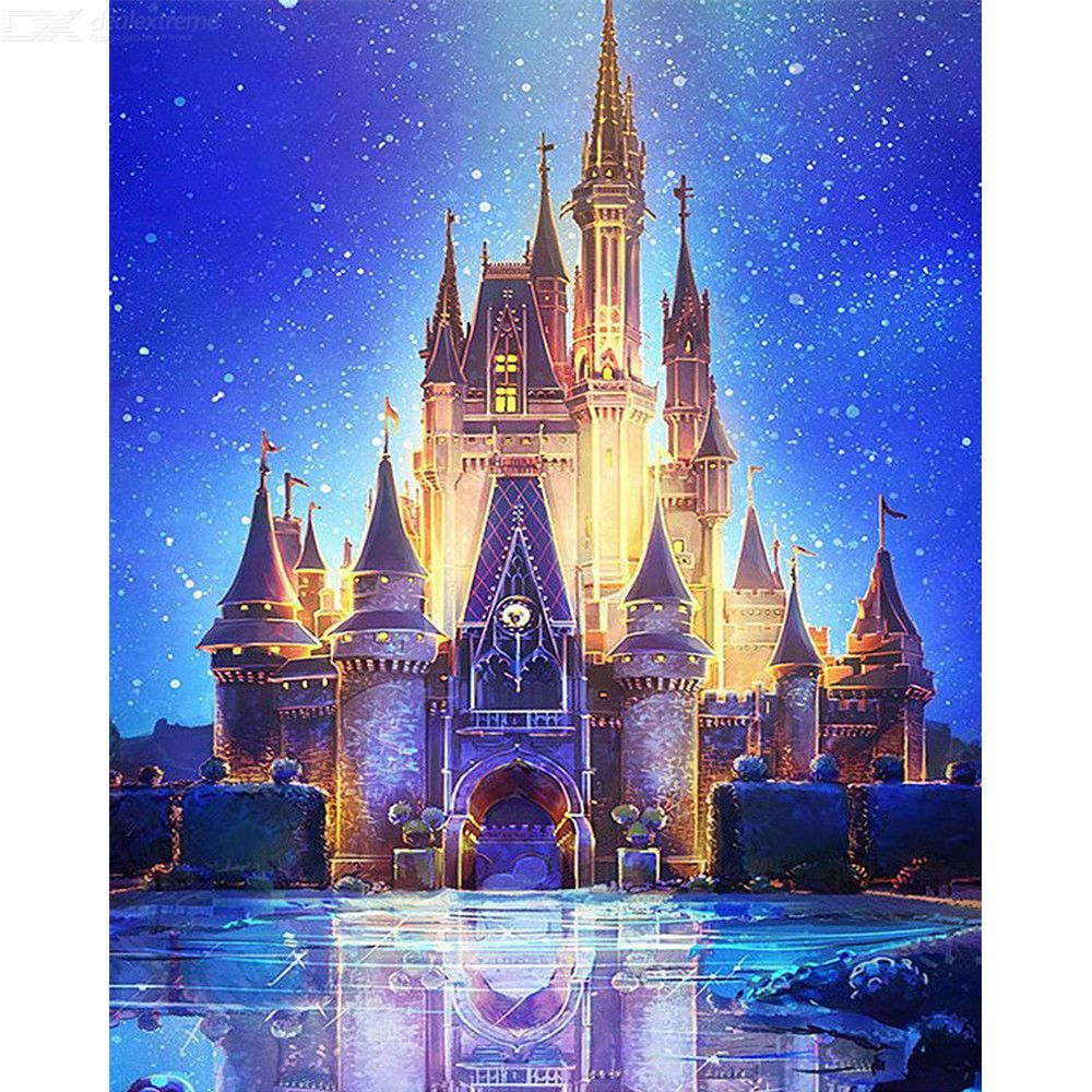 5D Castle Diamond Painting DIY Decoration Painting Home Wall Decor Cross-stitch Embroidery Diamond Painting Gifts