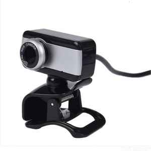 HD Webcams USB 2.0 COMS Clip-on Base 109cm Cable Drive-free Built-in Noise Reduction Microphone