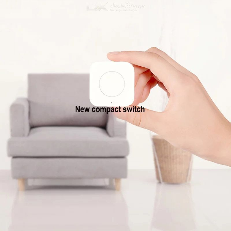 Aqara WXKG12LM Upgraded Wireless Switch Smart APP Remote Control Light Switch Doorbell Household Security Zigbee Connection
