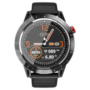 LOKMAT Comet Smart Watch Waterproof 1.3inch LCD Display Color Screen Magnetic Charging Removable Strap BLE 4.0