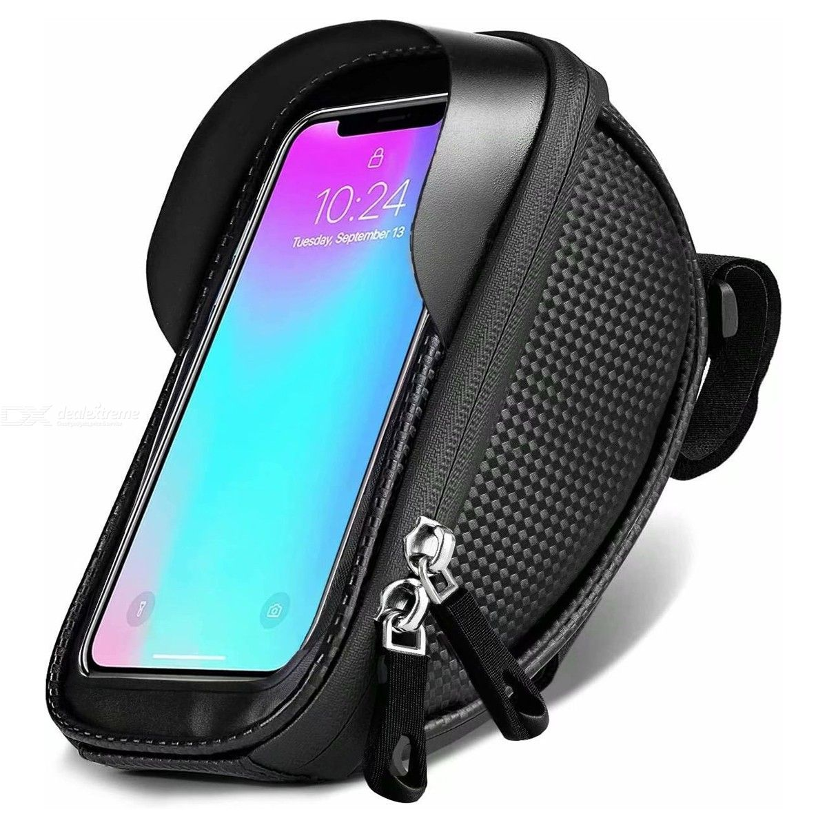 Waterproof | Portable | Bicycle | Screen | Holder | Touch | Phone | Front | Frame | Bike | Tube | Bag