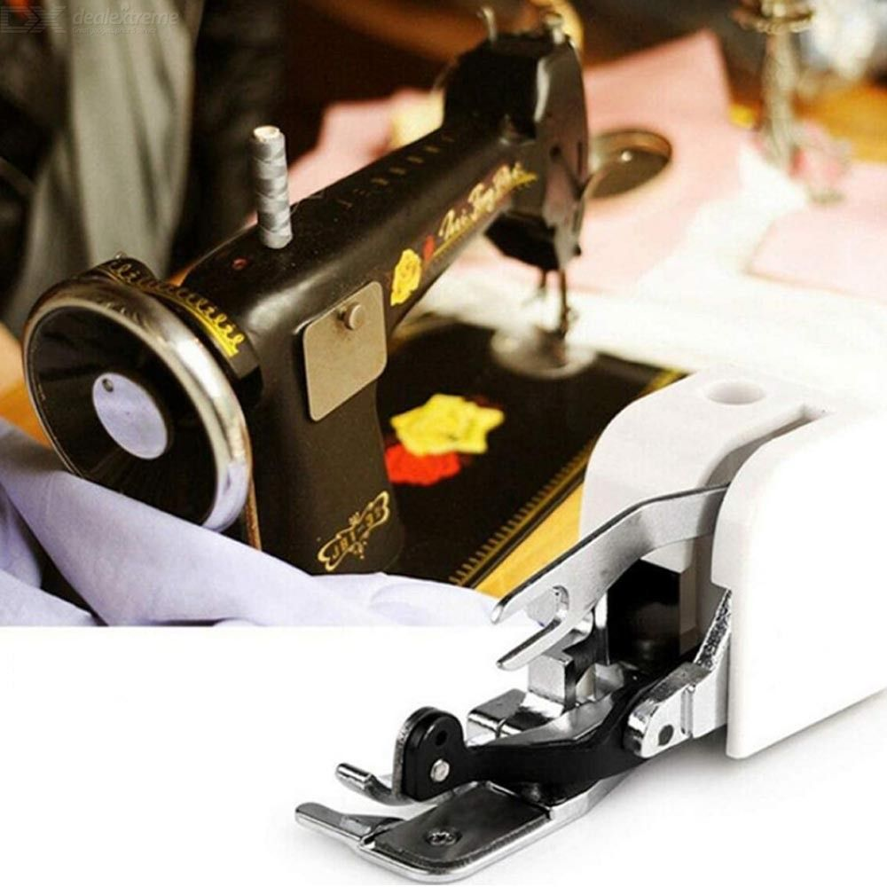 1Pcs Household Sewing Machine Parts Side Cutter Overlock Presser Foot Press Feet For All Low Shank Singer Janome Brother