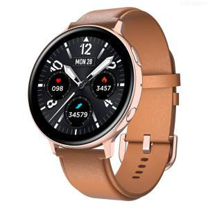 C6 full circle full touch heart rate and blood pressure information push wireless charging Bluetooth call multifunctional watch