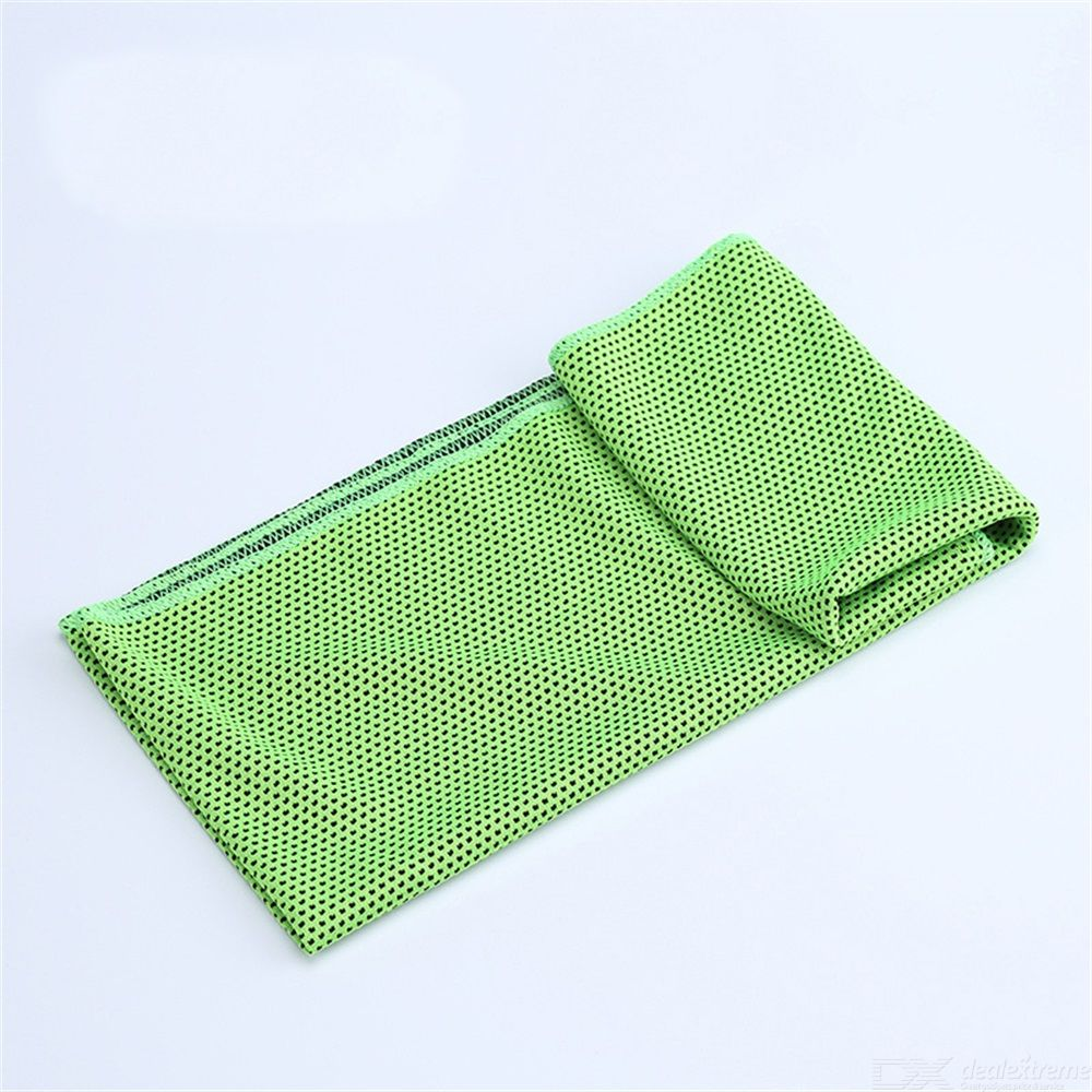 Quick Dry Cooling Towel Outdoor Sports Towel Sweat-wicking Chilly Instant Towel Fitness Running Yoga Mesh Towel