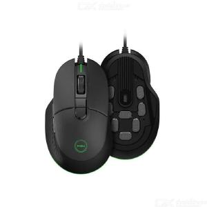 Miiiw Wired Gaming Mouse 7200DPI 150IPS 1.8m Cable Length USB 2.0 RGB Backlight 6 Programmable Keys