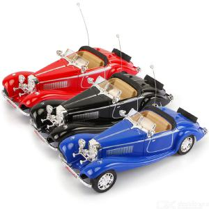 1:20 2-Channel Remote Control Car Toy Classic Old Car Model Electric Car Toy For Children Birthday Gifts For Kids Classic Car
