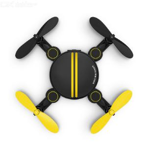 SHRC SH1 Mini Foldable Drone Portable 4-axis Foldable Body Six-axis Gyroscope Air Pressure Function Multi-electric Version