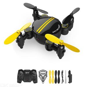 SHRC SH1 Mini Foldable Drone Portable 4-axis Foldable Body Six-axis Gyroscope Air Pressure Function Single Electric Version