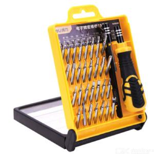 Refined brand high quality multi-functional precision 33 set combination screw hardware tools