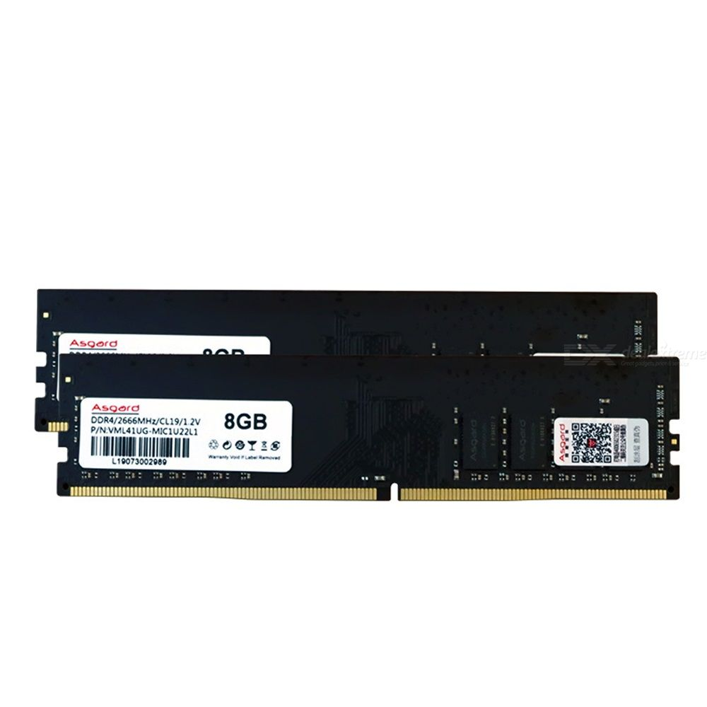 Asgard Memery Bank Desktop PC Memory Bank 8G DDR4 2666MHZ Low Power Consumption Wide Compatibility