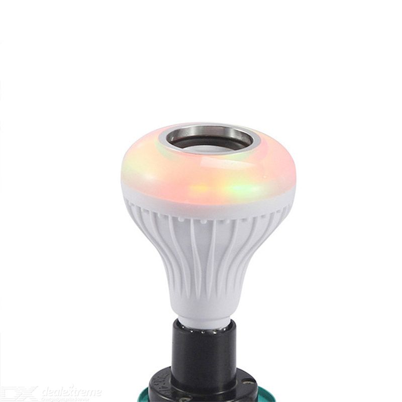 LED Music Bulb RGB Smart Bluetooth Speaker Bulbs Home Atmosphere Bulb Colorful Lamp Music Speaker Remote Control Light Speaker