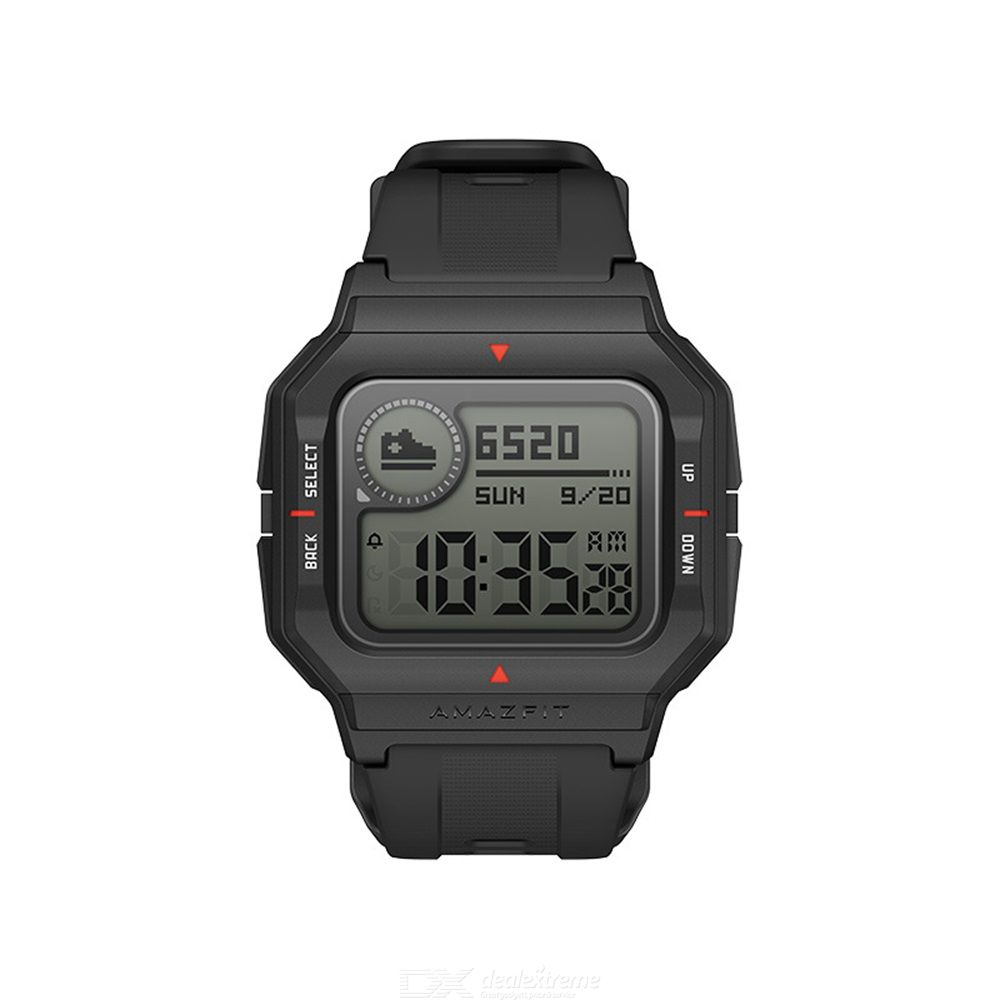 Amazfit Neo Smart Watch Square Dial Retro Waterproof Sport Watch Heart Rate Monitoring 28 Days Battery Life Heartrate Sleep