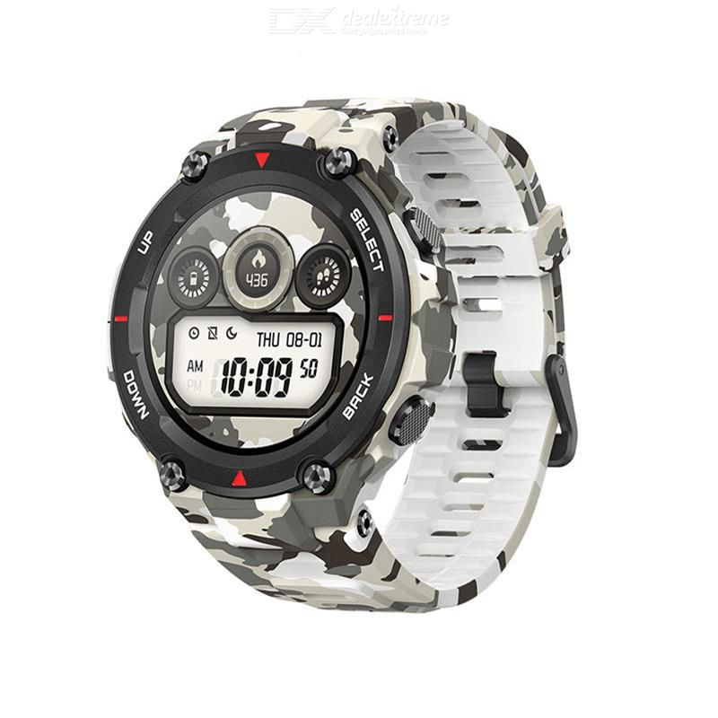 Amazfit T-rex Smartwatch GPS Waterproof 1.3-inch AMOLED Screen 20 Days Battery Life 5ATM Built-in Low Power-consumption Chi -HK