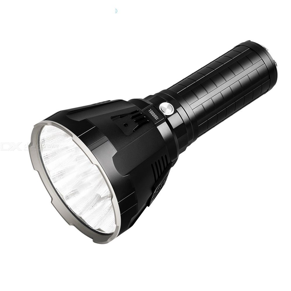 IMALENT MS18 Flashlight 1350M Beam Distance Outdoor Search Light Hard Light Waterproof Torch