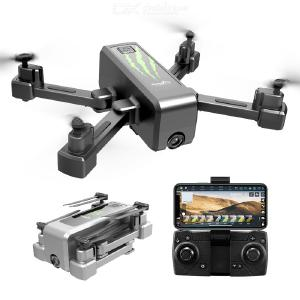 HR H5 Foldable Drone Portable HD Camera 5G/2.4G Image Transmission With LED Light Single Electric Version