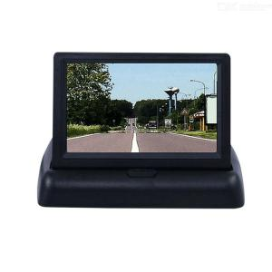4.3inch Foldable Car Monitors LCD Screen Two Video Inputs NTSC/PAL Dual System With Automatic Switching Function