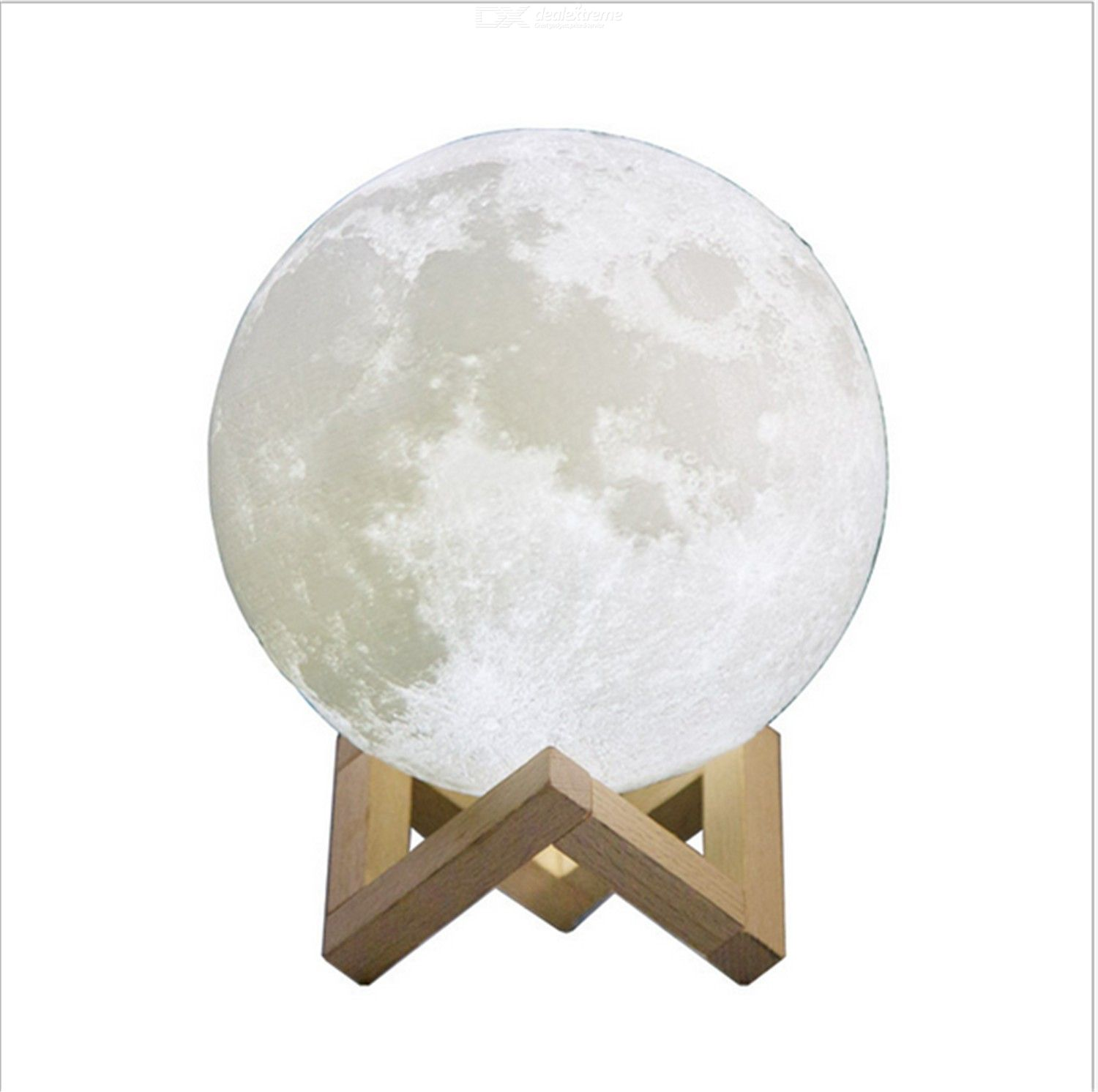 3D printing moon lamp 3D moon lamp creative desk lamp LED Night Lamp smart home lamp 10cm