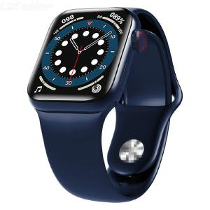 HW12 Full-screen Smart Bracelet HD Bluetooth Calling Watch Multi-functional Sport Watch Square Dial Watch Silicone Straps