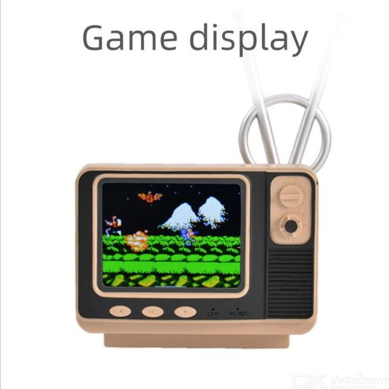 Retro bookshelf TV game console 80 nostalgic classic double player game console TV creative wireless game console crafts