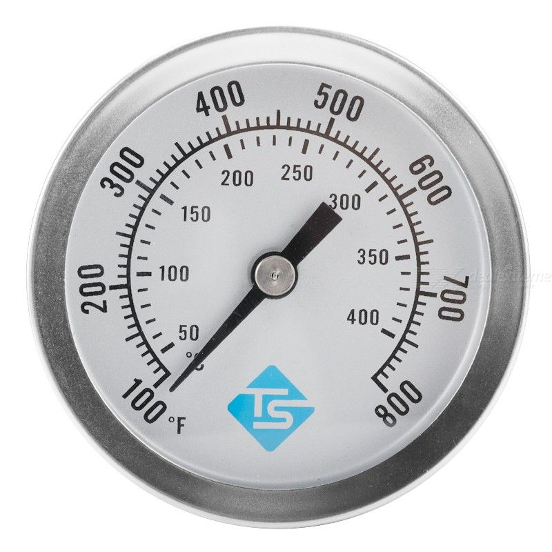 Stainless steel grill oven pointer thermometer 100-800℉ oven thermometer