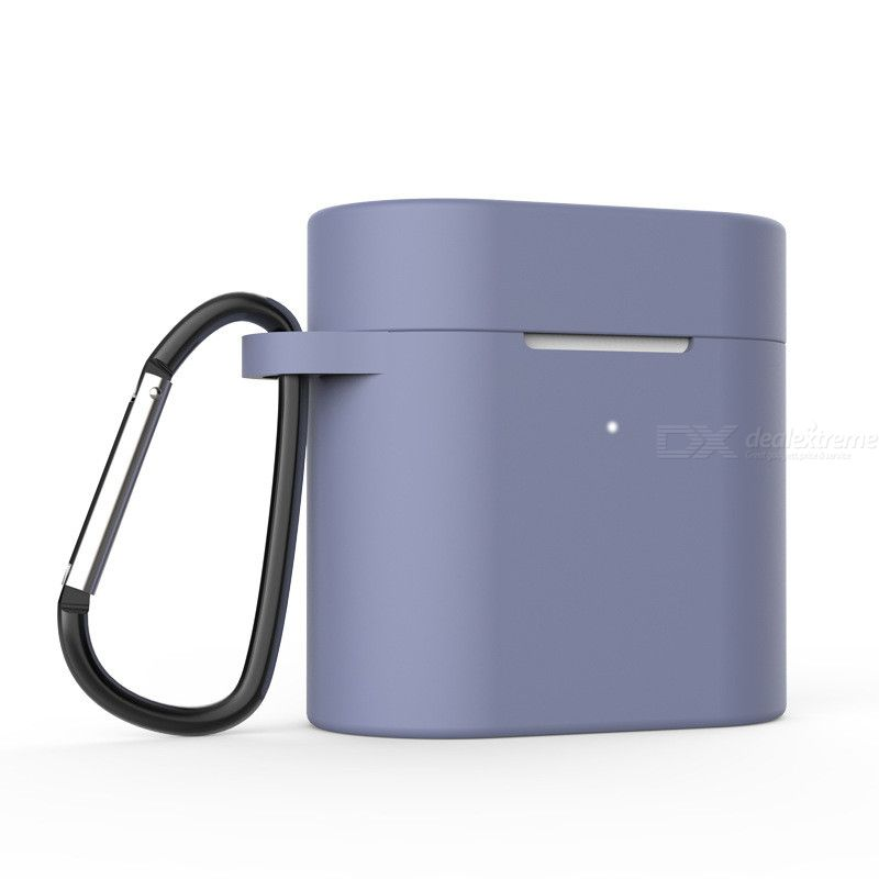 Suitable for Xiaomi Air2 Universal Xiaomi Air2s Bluetooth headset silicone protective cover + anti-lost buckle