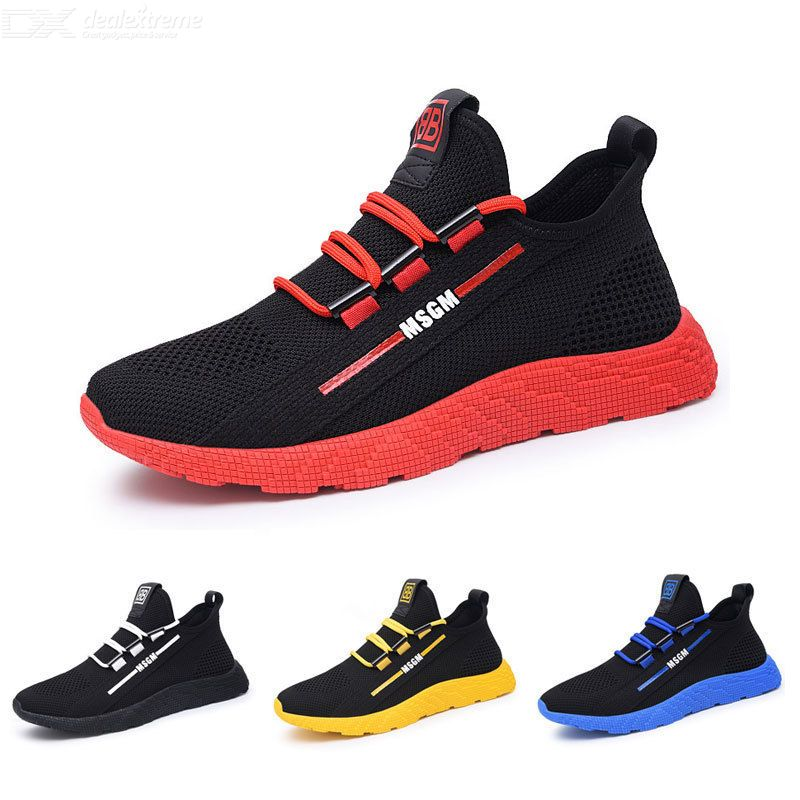 Hollow Shoes Trend Breathable Mesh Shoes Casual Shoes For Men